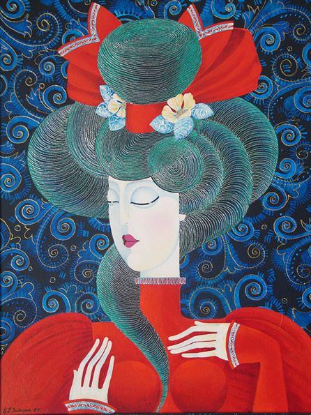 #Luzhina #art #portret