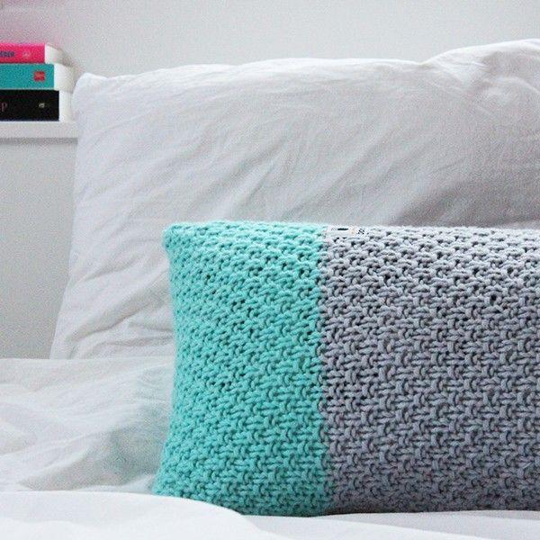 Knitting pattern Myboshi pillow