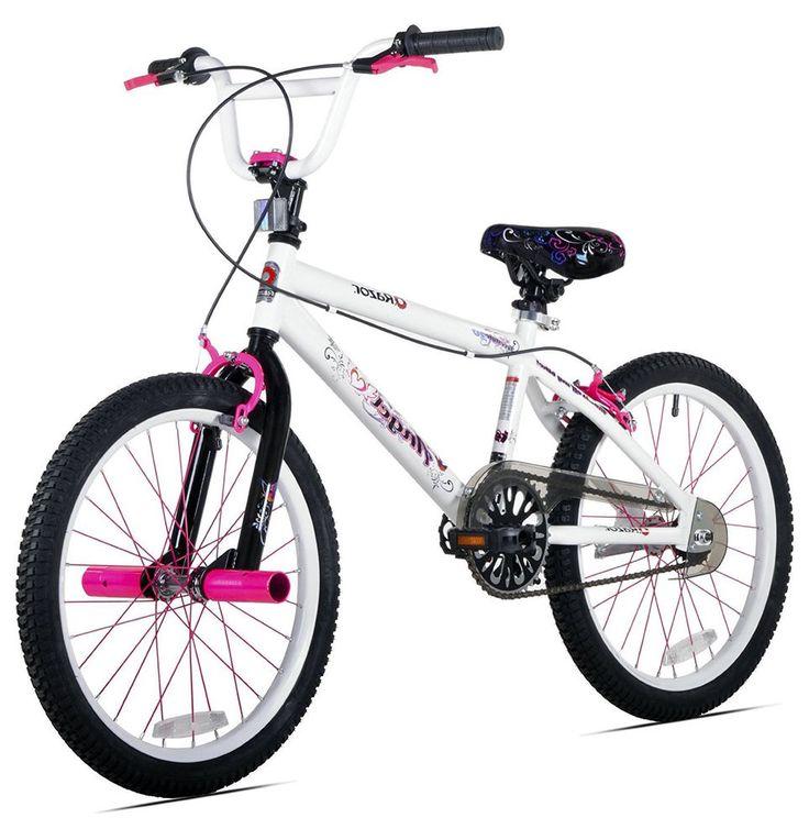 Bikes For Girls 20 Inch Razor Angel Beginners Front And Rear Handbrakes White #Razor