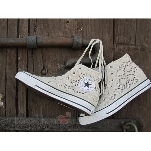 78e10b99759f2 Details about Scarpe Converse All Star CT Hi Specialty Crochet 549311c  Pizzo donna Beige LTD | Crochet | Scarpe converse, Scarpe e All star