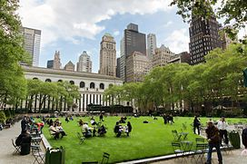 Bryant Park as suggested at meeting, see www.bryantpark.org/ for programming details