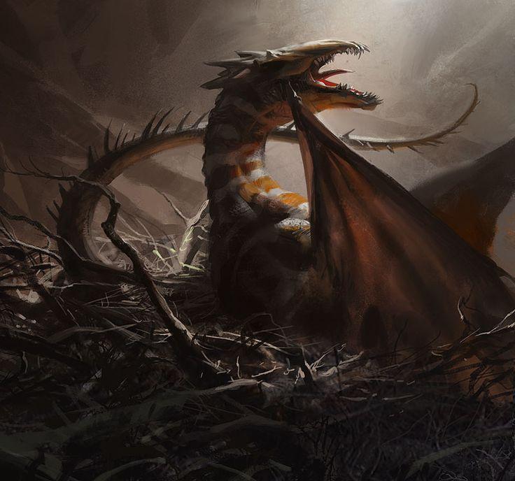 Dragon art by Jaime Jones