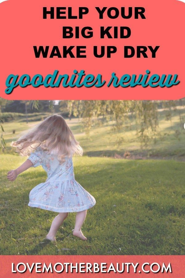Potty training tips and tricks tips for staying dry overnight.  Girls and Boys will love these goodnites overnight diapers