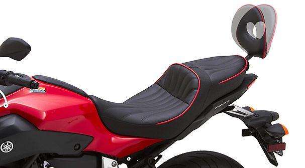 Yamaha FZ-07 - Corbin Seat with Passenger Backrest