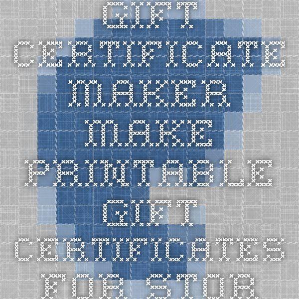 The 25+ best Certificate maker ideas on Pinterest Free - certificate template maker