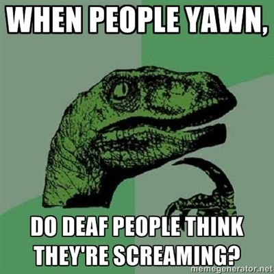 When people yawn - Dinosaur Philosopher    Funny pictures and Images by www.lolbreak.org
