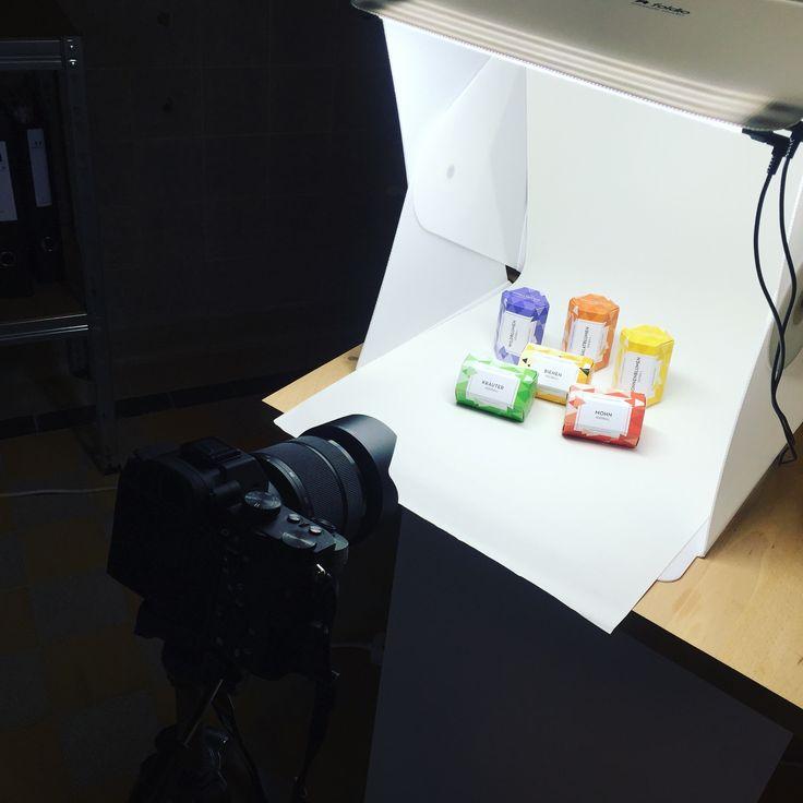 Making of... #foldio #photoshoot #seedballs #seedbombs #gardening