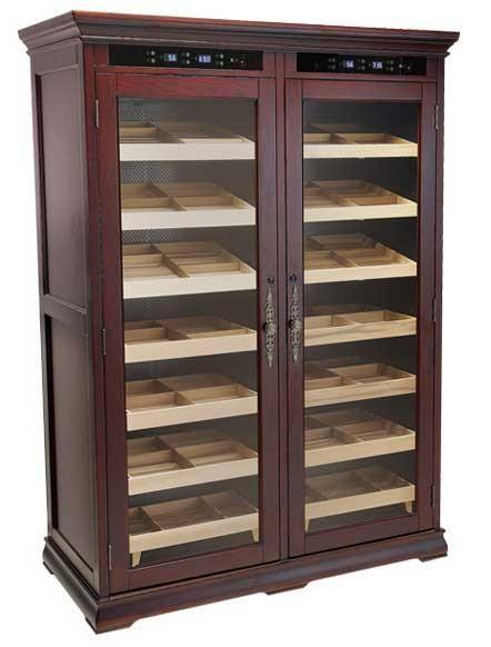 Reagan Electronic Cigar Humidor Cabinet - The Elegant Bar - 1