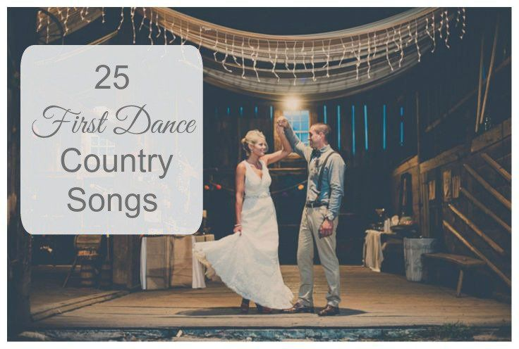The first dance at a wedding is big deal so we decided to come up with a list of 25 of what we consider to be the best first dance songs for a country wedding. So many of our readers are planning beautiful rustic and country style weddings and need a wonderful country song to …