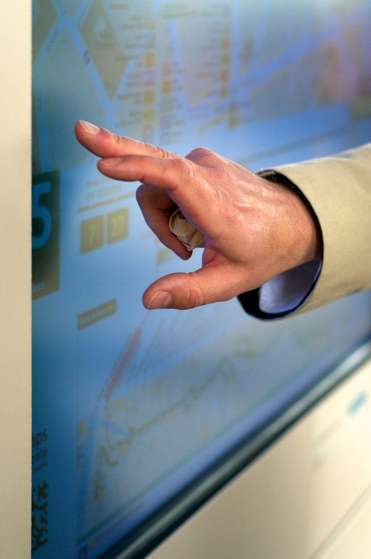 #Mobilite intelligente : inauguration de l'écran interactif #Zenway | http://sco.lt/6DISSP