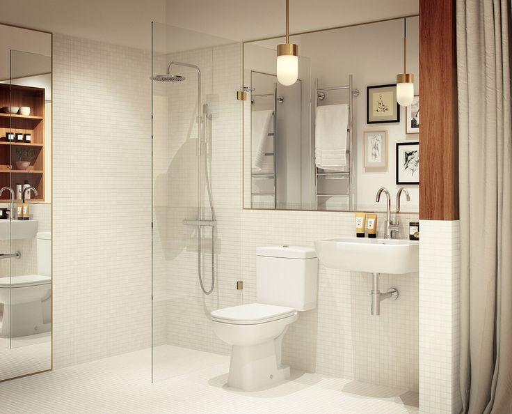 Badrum i nya Biografen 28 av Oscar Properties i Stockholm ger inspiration till DIY-klapp.
