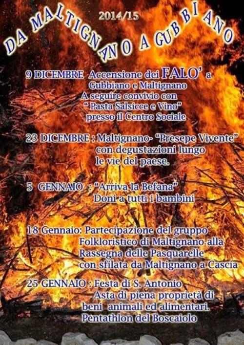 Il presepe vivente a Maltignano di Cascia, l'asta delle agnelle e i giochi dei boscaioli, il programma completo