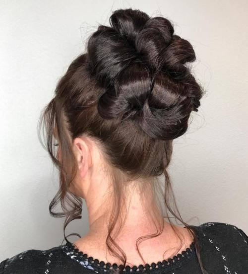 Loopy Bun Formal Updo