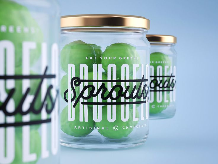 Green Chameleon's Sweet Sprout Delivery on Packaging of the World - Creative Package Design Gallery