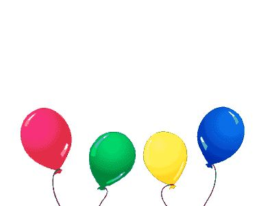 animated gif | Animated gifs happy birthday, cake, balloons, clowns