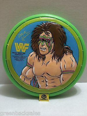 (TAS008574) - WWE WWF WCW Wrestling Radical Flying Disc - Ultimate Warrior