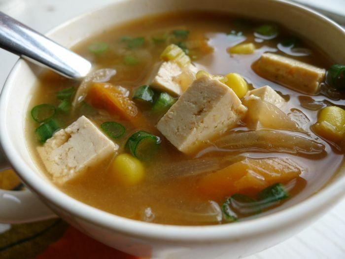 Makrobiotische Ernährung japanisch tofu miso
