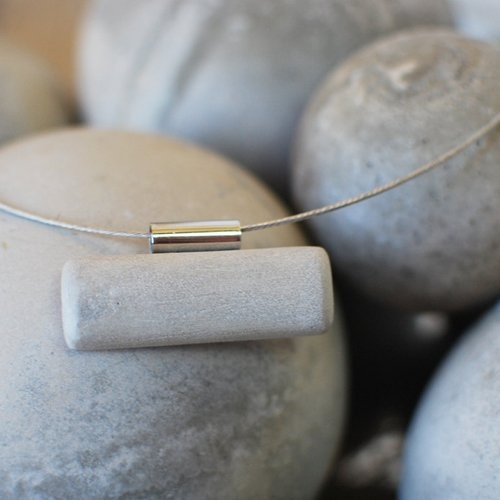 Find it at the Foundary - Concrete Balance Necklace