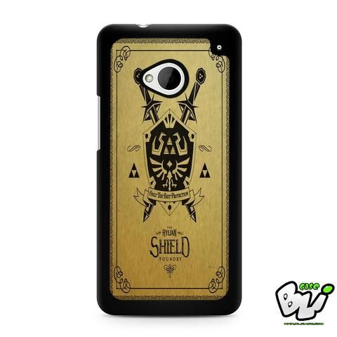 Zelda Hylian Shield HTC G21,HTC ONE X,HTC ONE S,HTC M7,M8,M8 Mini,M9,M9 Plus,HTC Desire Case