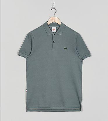 Lacoste L!VE Ribbed Plain Polo Shirt - Sergant