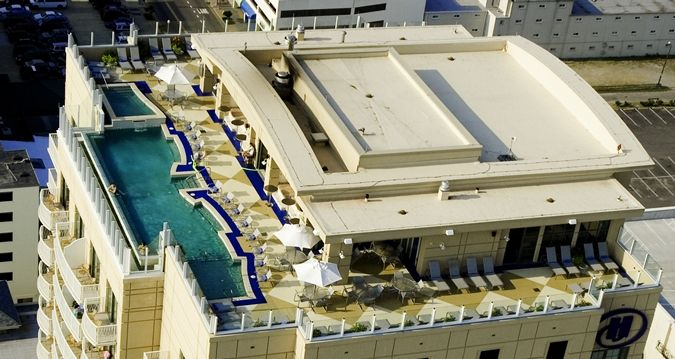 Hilton Virginia Beach Oceanfront Hotel, VA - rooftop pool