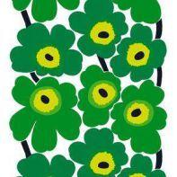 Marimekko fabrics - novelties and classics. Green, my new favorite color!!!!!!!!!