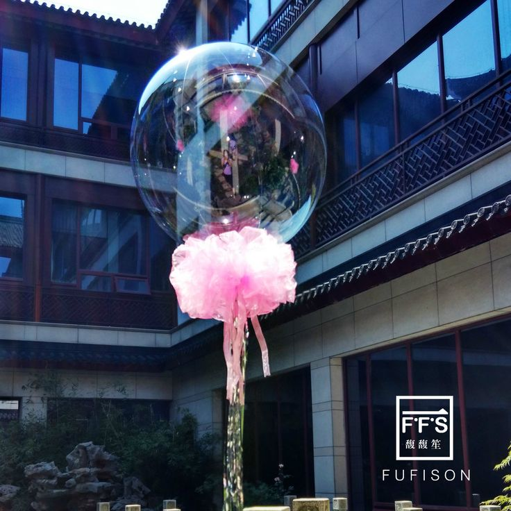 Fufison 18 дюймов прозрачный купол шар Тюль цветок Кисточки баллоны для дня рождения партия Свадебные украшения купить на AliExpress