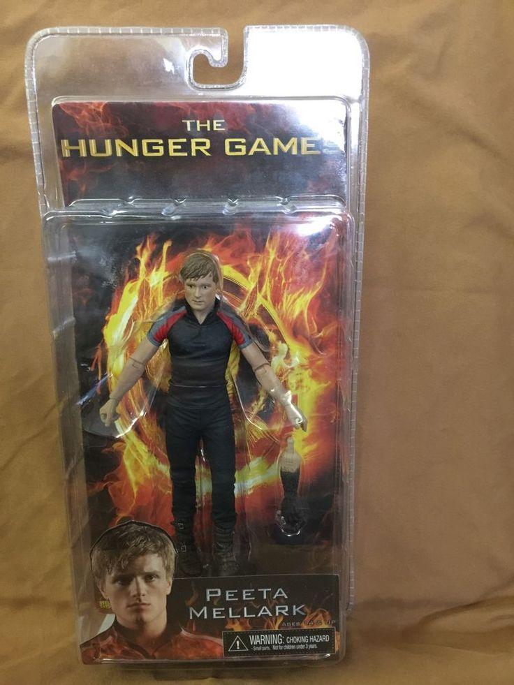 NIB The Hunger Games Peeta Mellark Action Figure Neca Reel Toys #NECA