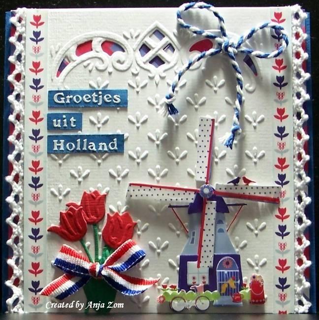 Anja Zom kaartenblog: Holland