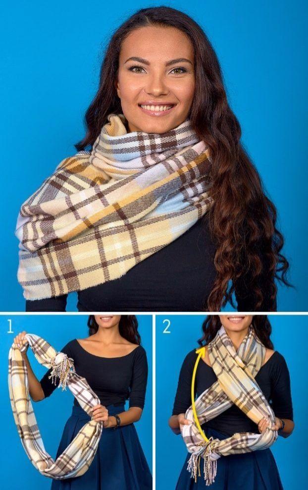 8 Tricks um einen Schal zu binden