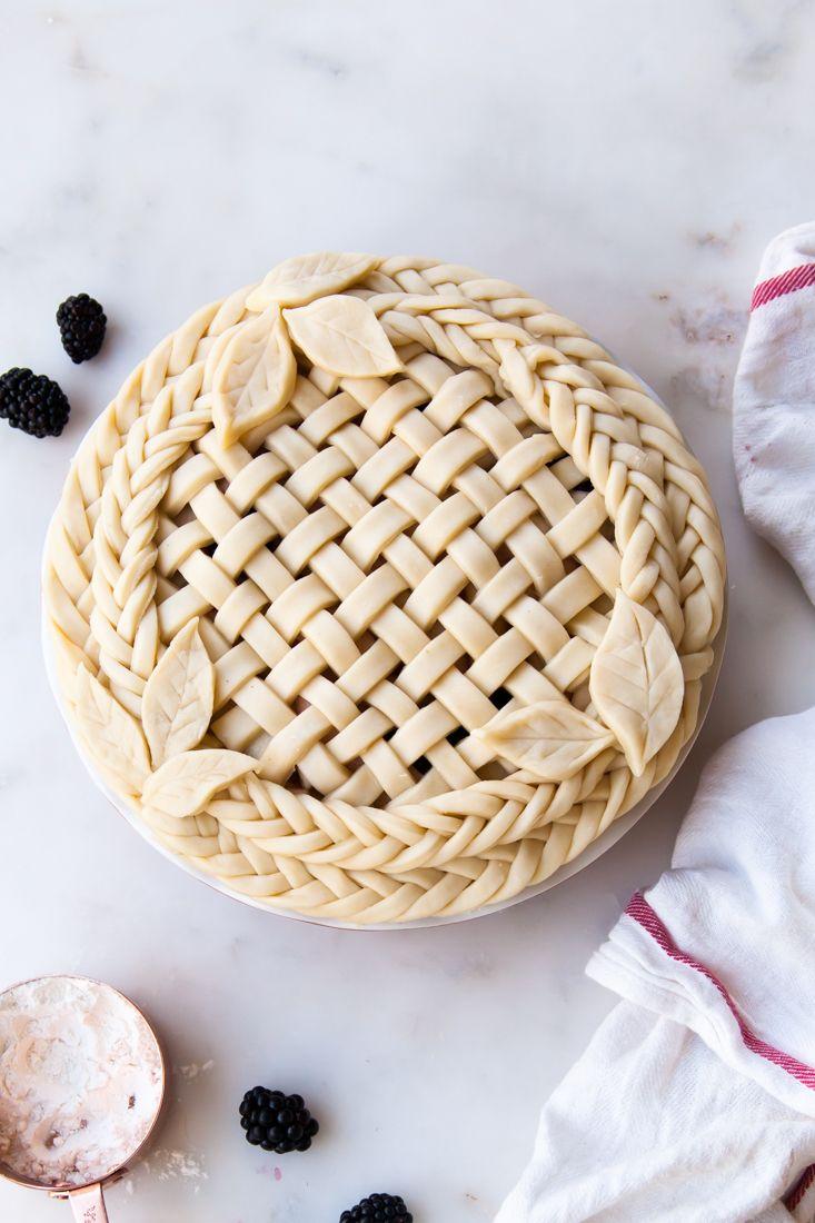 Apple Blackberry Pie