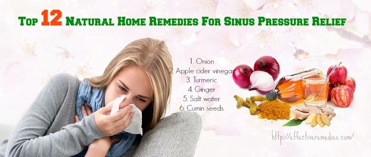 Top 12 Natural Home Remedies For Sinus Pressure Relief