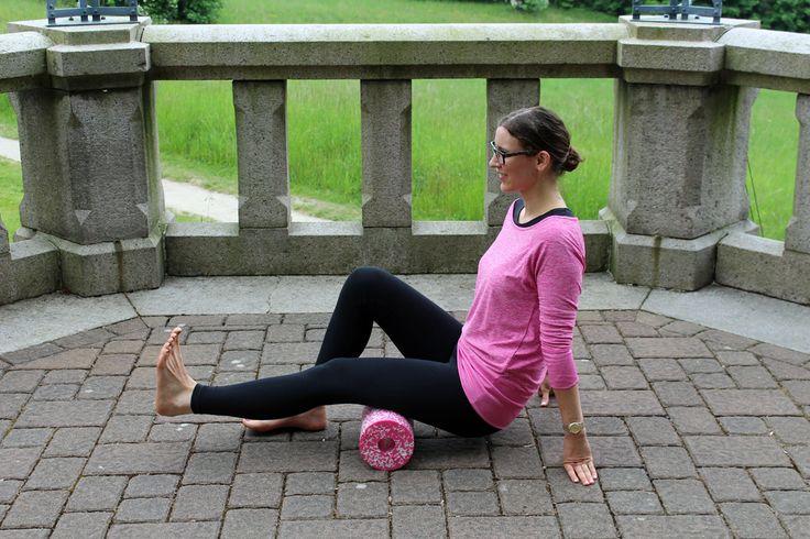 Faszien-Training mit der Blackroll (Faszienrolle) | Projekt: Gesund leben | Clean Eating, Fitness & Entspannung