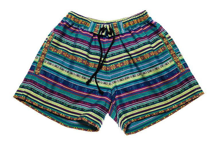 Bohemian shorts for Women in  fantastic happy / multi colors by Aviimade on Etsy