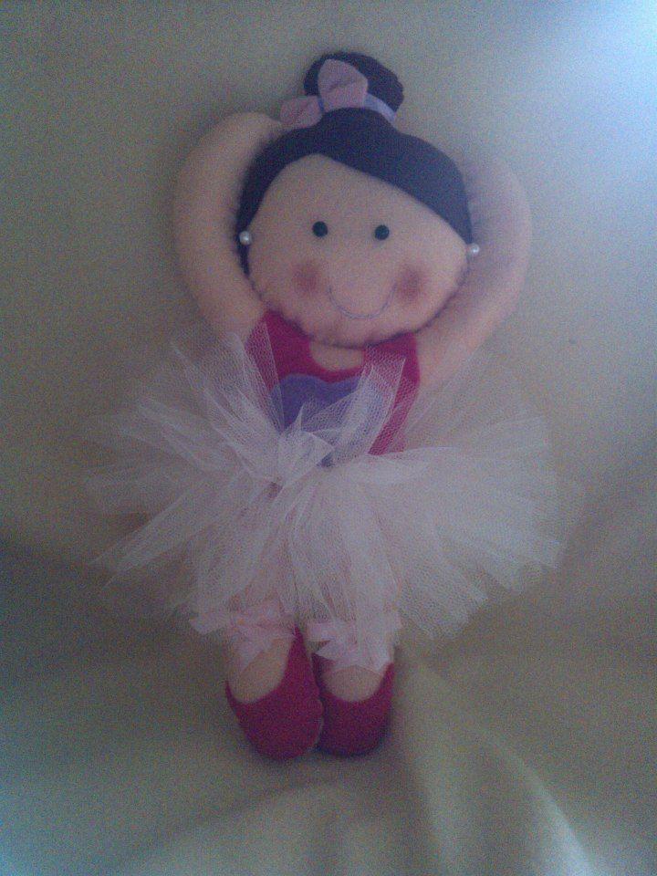 Felt ballerina doll!!!
