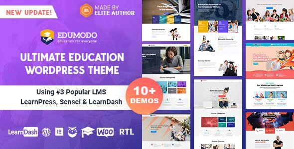 Edumodo Education Wordpress Theme Education Wordpress Themes Free Wordpress Themes Educational Websites