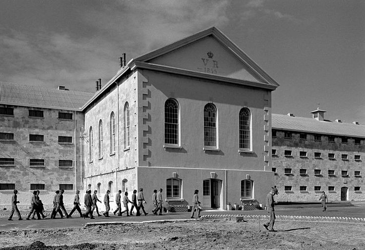 Fremantle Prison inmates and main front