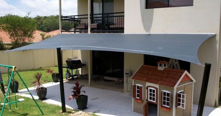 Install waterproof shade sails for your carport and keep your vehicle safe