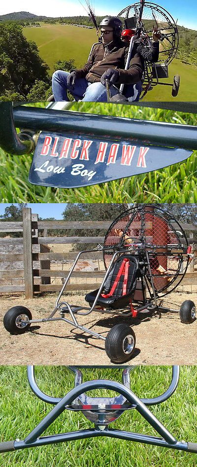Paragliding 114271: Universal Tandem Paramotor Quad For Powered Paragliding Blackhawk Lowboy Ii Quad -> BUY IT NOW ONLY: $2695 on eBay!