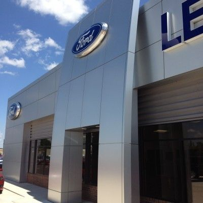 Great Project 4s store by ACM Panels System 2000 - Coated Metals Group