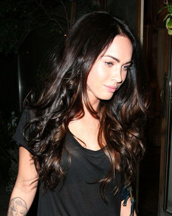 Megan Fox Ombre Hair | Want! | Pinterest | Beautiful ...