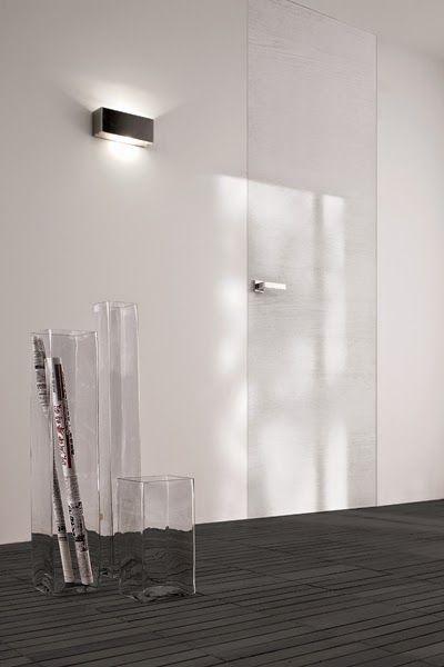 Bluinterni B-Line | Onzichtbare & Lijstloze deuren | Wit houten afwerking