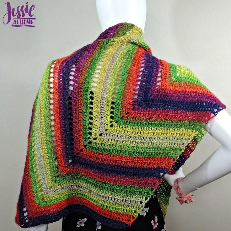 190 besten Baktus, bandanas and asymmetrical shape shawls/scarves in ...