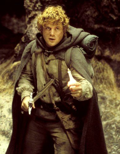 Sean Astin - Samwise Gamgee is one of my very favorite characters in LOTR.
