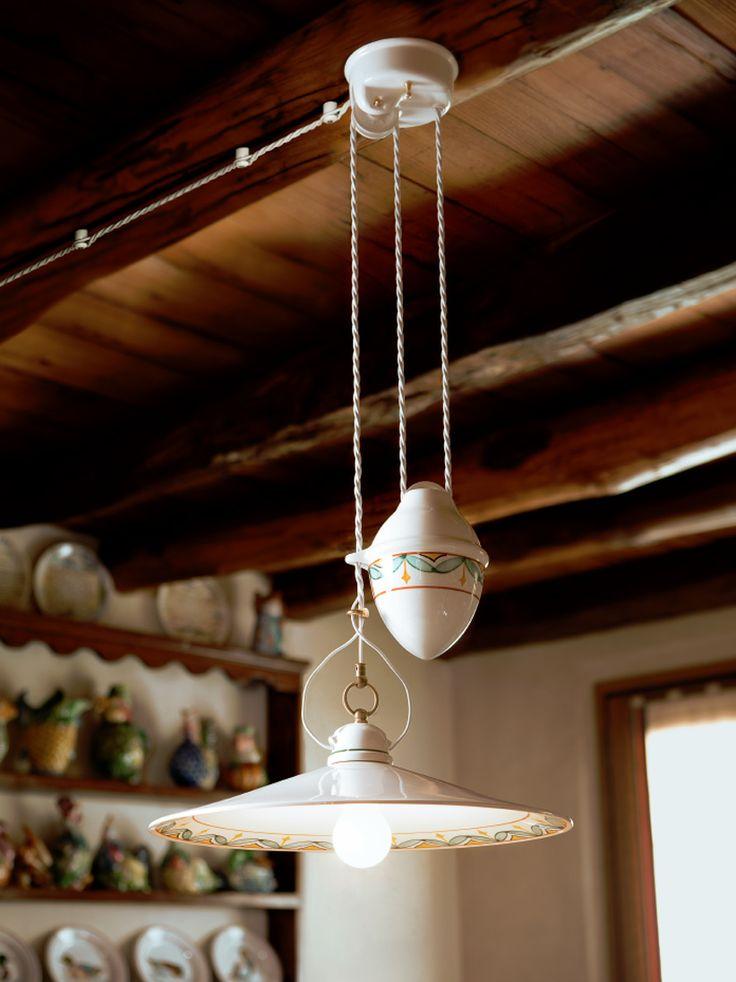 Le Ceramiche | Lampade in ceramica, illuminazione interni e illuminazione per esterni - Aldo Bernardi