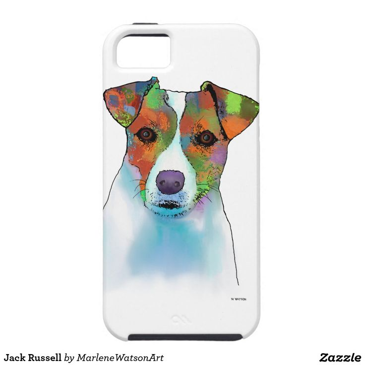 Jack Russell iPhone 5 Cover