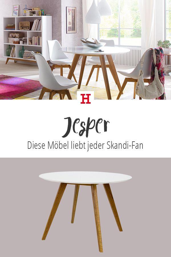 Eine Kombi aus Holz und Weiß - so lebt man #hygge ...
