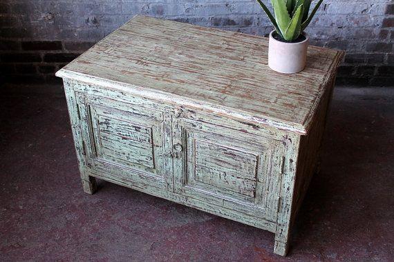 Vintage ácido lavado bajo mueble Media por hammerandhandimports