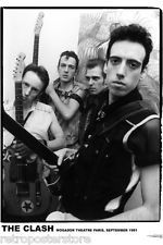 The Clash Punk Band POSTER 60x90cm NEW Mogador Theatre Paris September 1981 pic