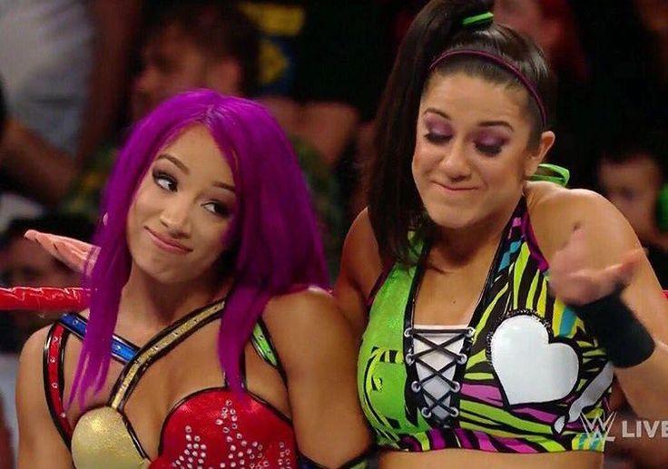 Sasha, and Bayley
